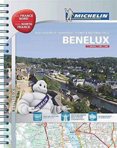 Benelux & North of France Road Atlas (Michelin Atlas)の詳細を見る