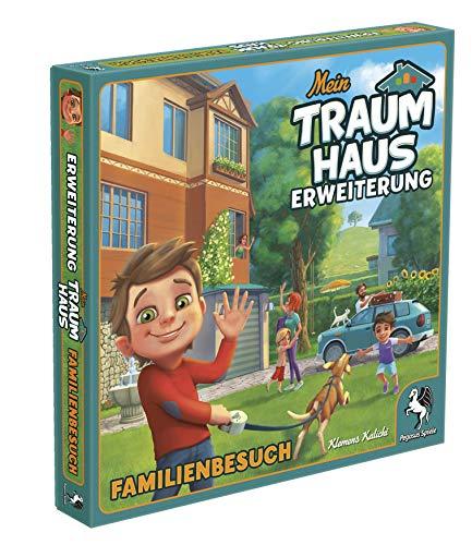 Pegasus Spiele 51221G - Mein Traumhaus Familienbesuch (Erweiterung)