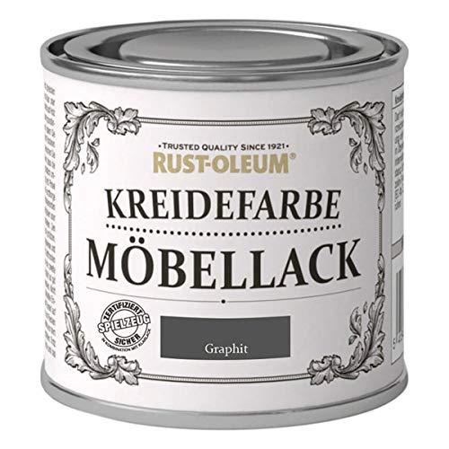 RUST-OLEUM 14010.DE.0.125 Kreidefarbe DOSE 125ml graphit