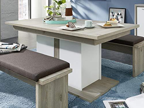 möbelando Esszimmertisch Küchentisch Auszugtisch Esstisch Speisetisch Tisch Katerine I