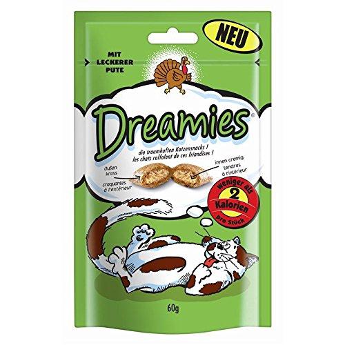 Dreamies Cat Snacks mit Pute | 6X 60g Katzensnack
