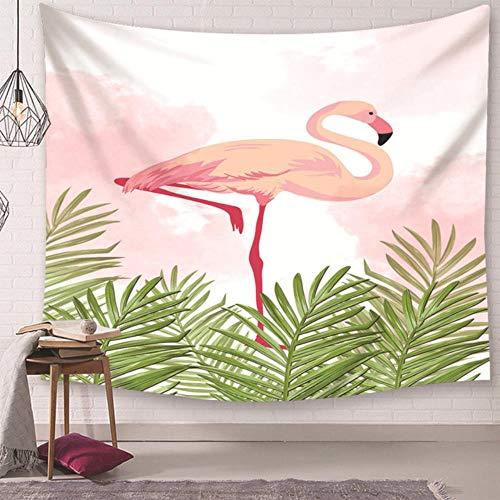 Tapiz decorativo para el hogar, para sala de estar, multifuncional, chal de picnic, ropa de cama, vista de ciervos, impresión sencilla cenefa