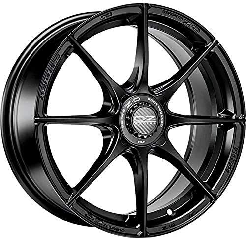 OZ Formula Hlt 4F Matt Black 7.5x17 ET35 4x100 Serie S - Ext. Diámetro 68 mm Llanta de Aleación