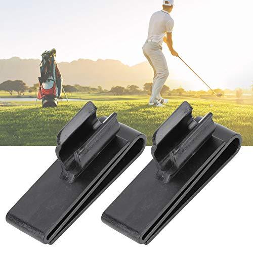 Wosune Organizador de Golf, marcadores de Pelota de Golf Accesorio de Golf Soporte de Pelota de Golf Soporte de Abrazadera de Palo de Golf, para Putter de Golf Accesorio de Golf Ejercicio al Aire