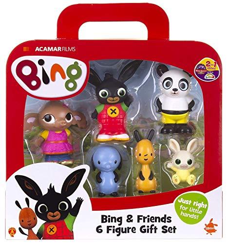Giochi Preziosi- Bing Set 6 Personaggi, Multicolore, BNG07000