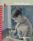 Notebook: Young Peasant Having Her Coffee, 1881, Camille Pissarro, French, 1830-1903, France, Oil on canvas