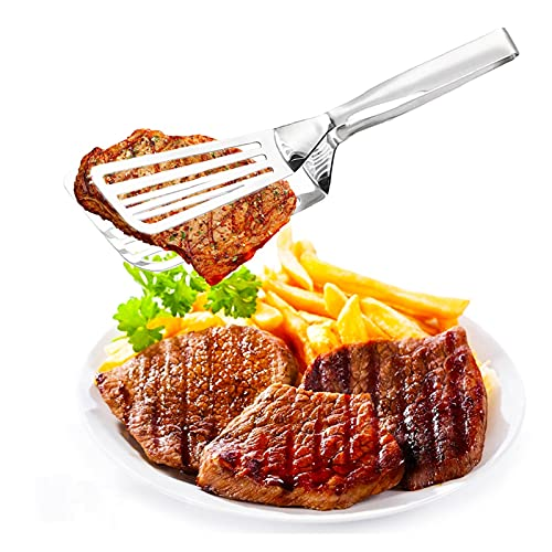 yywl Pinzas de Cocina Accesorios de Cocina Fried Fried Steak Pala Pinzas Barbacoas Pasaje Pala Barbacoa Abrazajos Utensilios Pan Carne Clip Gadget Spátula