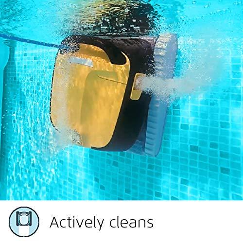 Dolphin Robot de Piscine électrique Maytronics E30 - Robot nettoyeur fond, parois et ligne d'eau Compatible Tout Type de Revêtement de Piscinetout