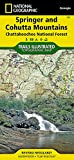 Springer and Cohutta Mountains [Chattahoochee National Forest] (National Geographic Trails Illustrated Map (777))