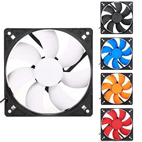Nobrand YSSP Gehäuse, 12 cm, 12 cm, leise, 1200 rpm, Desktop-Rechner, Kühler, Kühler, 16 dB, geräuscharm, 9025 Grün/Rot/Blau/Weiß/Orange blau