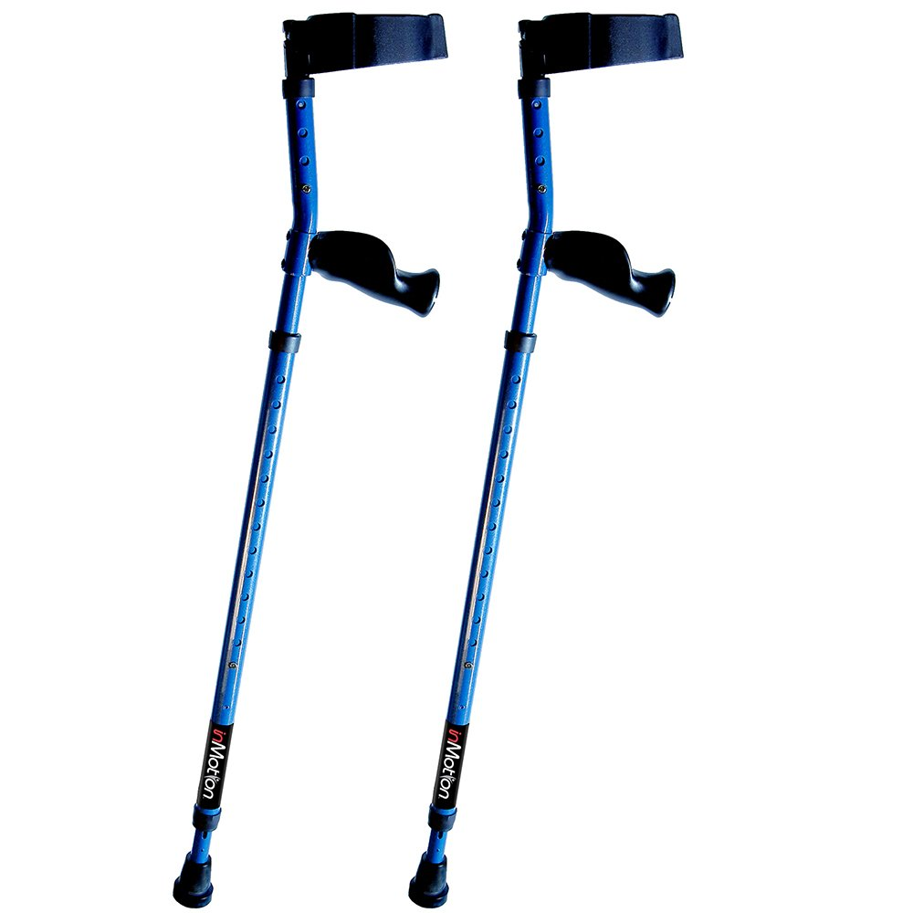 Motion Forearm Crutches Spring Assist