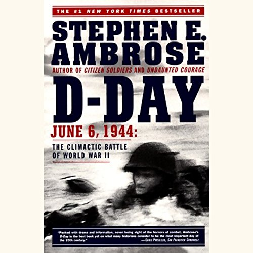 D-Day audiobook cover art