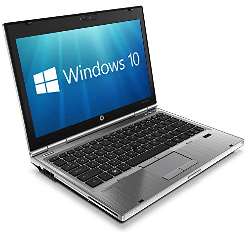 HP EliteBook 2560p 12.5' Core i5-2410M 8GB 256GB SSD DVD WiFi WebCam Windows 10 Professional Laptop (Renewed)