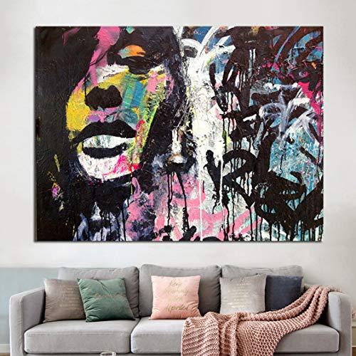 Danjiao Famoso Pintor Abstracto Mujeres Pared Arte Cuadros