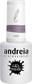 Andreia Esmalte de Uñas de Gel Semipermanente - Color BA3 Brillo Rosa - Sombras de Púrpura - 105 ml