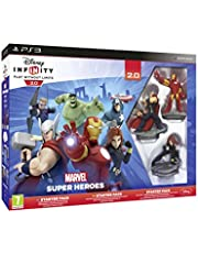 Disney Infinity 2.0 Marvel Superheroes Starter Pack & PS3 Game