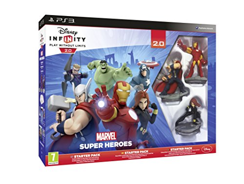 Disney Infinity: Marvel Super Heroes. Starter Pack 2.0 - PlayStation 3