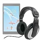 DURAGADGET Casque Audio pour Lenovo Tab 4 8/8 Plus et Tab 4 10 (X304F) / 10 Plus (X704F) tablettes tactiles - contrôle du Volume intégré