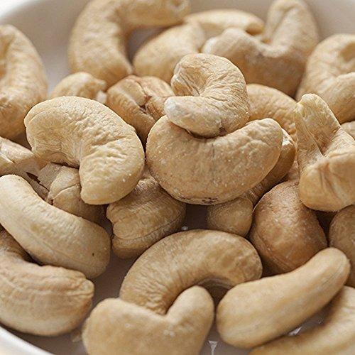 生カシューナッツ - インド産 栄養満点、おいしさ満点の完全無添加の生カシューナッツ (1kg)