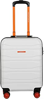 United Colors of Benetton Polycarbonate 54 cms White Hardsided Cabin Luggage (0IP6MP20HL09I)
