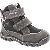 Primigi Girls Babe Waterproof Goretex Winer Boots,Gray,22
