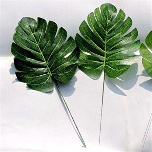 Bazaar Verte Artificielle Monstera Palme pulvérisation fougère Arbre Plante Feuille décor Branche de Mariage