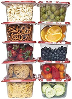 Enchante Cook with Color Holiday 20-Piece Food Container Set
