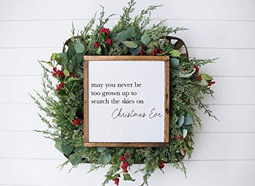 King34Webb Kerst Teken Kerstmis Houten Teken Kerstmis Decor Houten Teken Slee Rides Rendier Feed Boerderij Kerst Boerderij Verse Kerstbomen Teken