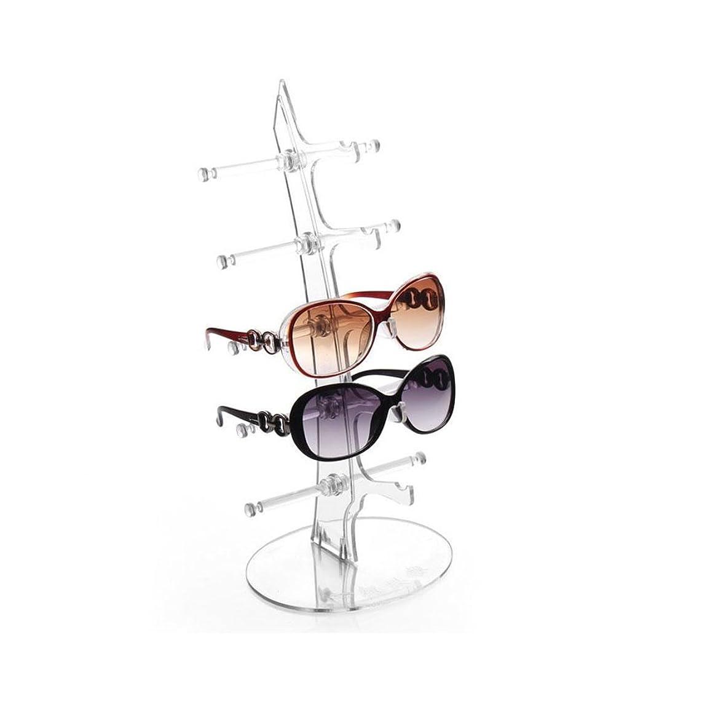 罰するカメラ学習者Hongch 眼鏡 デイリー用ディスプレイスタンド サングラスホルダーラック 眼鏡