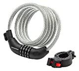 Schwinn Anti Theft Bike Lock, Security Level 3, Combination Lock, 6 Foot