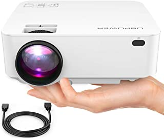Mini Proyector, 50% Brighter LED Movie Proyector with 176&am