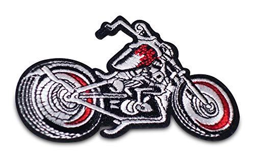 Finally Home Motorrad Biker Bügelbild Patch zum Aufbügeln für Lederwesten | Patches, Aufbügelmotive