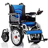 HSDDLY High Performance Power Wheelchair Easy Folding And Lightweight Power Wheelchairs Maximum Carrying Capacity 150 Kg for The Elderly