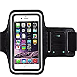 [1 Pack]Premium Water Resistant Sports Armband with Key Holder for iPhone 8 Plus...