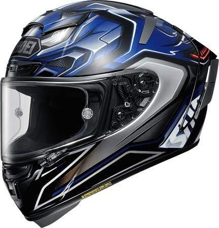 ヘルメット ショウエイ SHOEI X-14 AERODYNE [X-FOURTEEN エックス-フォーティーン エアロダイン TC-2 BLUE/SILVER] L サイズ