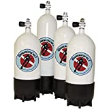Polaris 10 Liter Tauchgerät Pressluftflasche mit Ventil