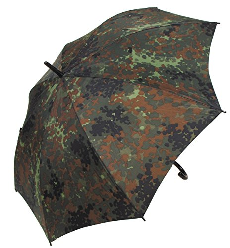 Max Fuchs Regenschirm, flecktarn, Durchmesser 1,05 m