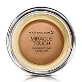 Max Factor Miracle Touch Liquid Illusion 85 Caramel Base de maquillaje 85 (Caramelo) - 34 ml