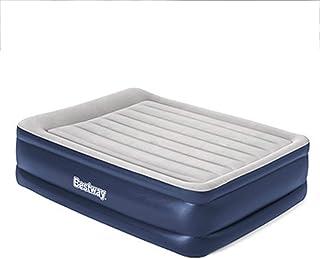 Colchón inflable, cama portátil simple con bomba eléctrica recargable incorporada En almohada, para los clientes, Camping, Senderismo