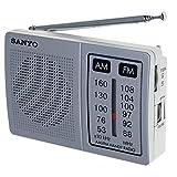 SANYO Radio PORTATIL DE Bolsillo con Altavoz Am/FM SANYO KS108