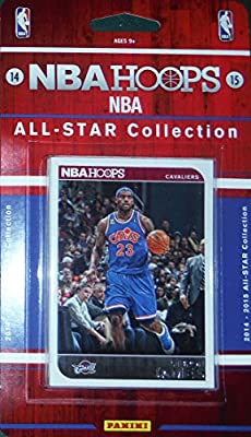 2014 2015 Hoops NBA All Stars Collection Special Edition Factory Sealed Basketball Set with Lebron James Kobe Durant and More