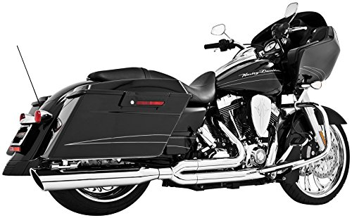 Freedom HD00232 Exhaust (Union 2-Into-1 Chrome Bagger)