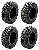 Full set of Pro Armor Crawler XG (8ply) 32x10-15 ATV Tires (4)