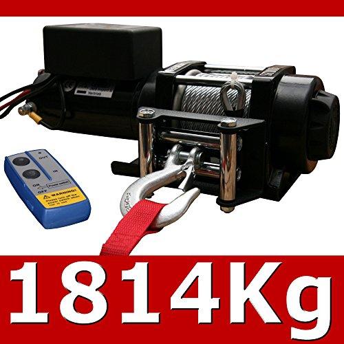 Elektrische ATV Seilwinde 4000 Lbs Funk