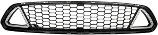Grille Compatible With 2015-2017 Ford Mustang | IKON Style Black Front Bumper Grill Hood Mesh by IKON MOTORSPORTS | 2016