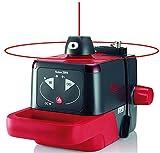 Leica 772789 Nivel láser rotativo autonivelante básico, alcance 150 m con receptor