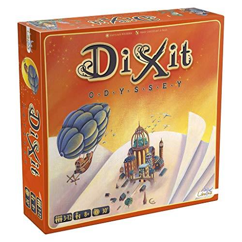 Dixit Odyssey original - Juego de mesa (Asmodée, DIX03ML1) 🔥