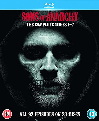 Sons Of Anarchy: Complete Seasons 1-7 [Blu-ray] [UK-Import]