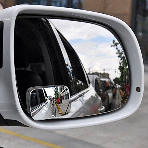 zhuotop 2Verstellbarer Auto Spiegel Blind Spot Seite Rear View konvex Weitwinkel Parking