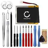 CELLONIC Batería Premium Compatible con Garmin Fenix 3 / Fenix 3 HR, 361-00034-02 300mAh + Juego de...